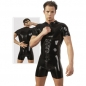 Preview: Herren Latex-Kurzoverall von The Latex Collection