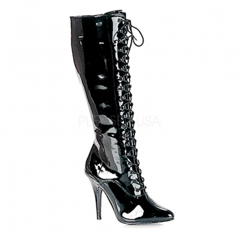 Pleaser Seduce-2020 - Sexy High Heels Lack Knie Stiefel